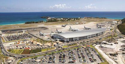 Aeriel Photo SXM Airport