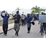 Airport Workers Striking - 2020070101 JH