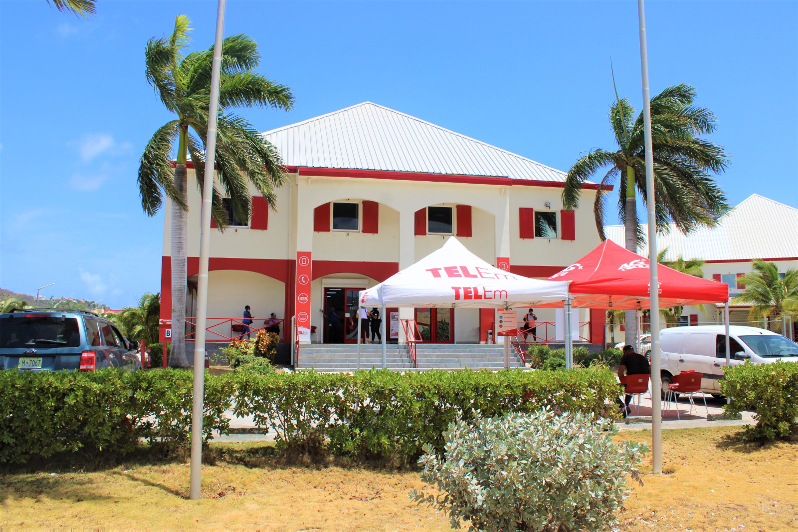 Telem Main Office building - Pond Island