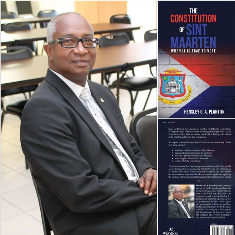 The Constitution of Sint Maarten – When it is time to vote - book by Hensley Plantijn